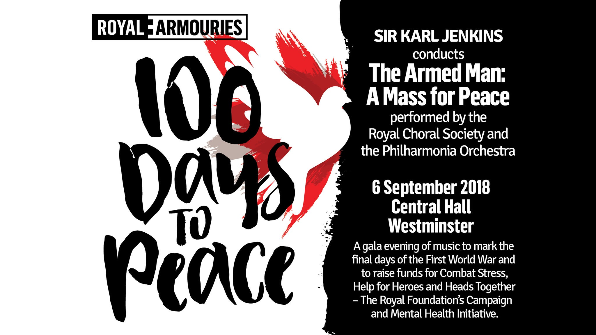 100 Days To Peace live