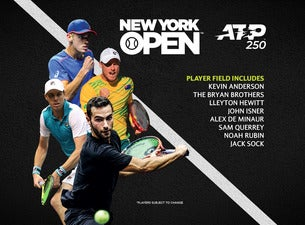 New York Open - Semi-Finals Day Session