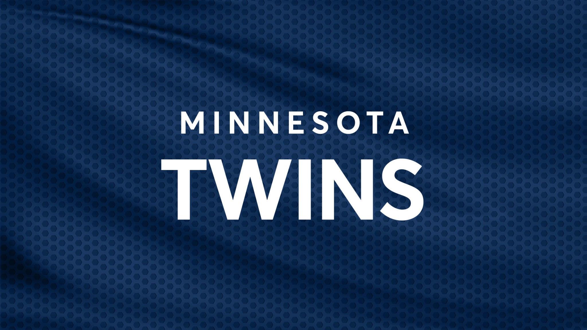 Minnesota Twins vs. Oakland Athletics