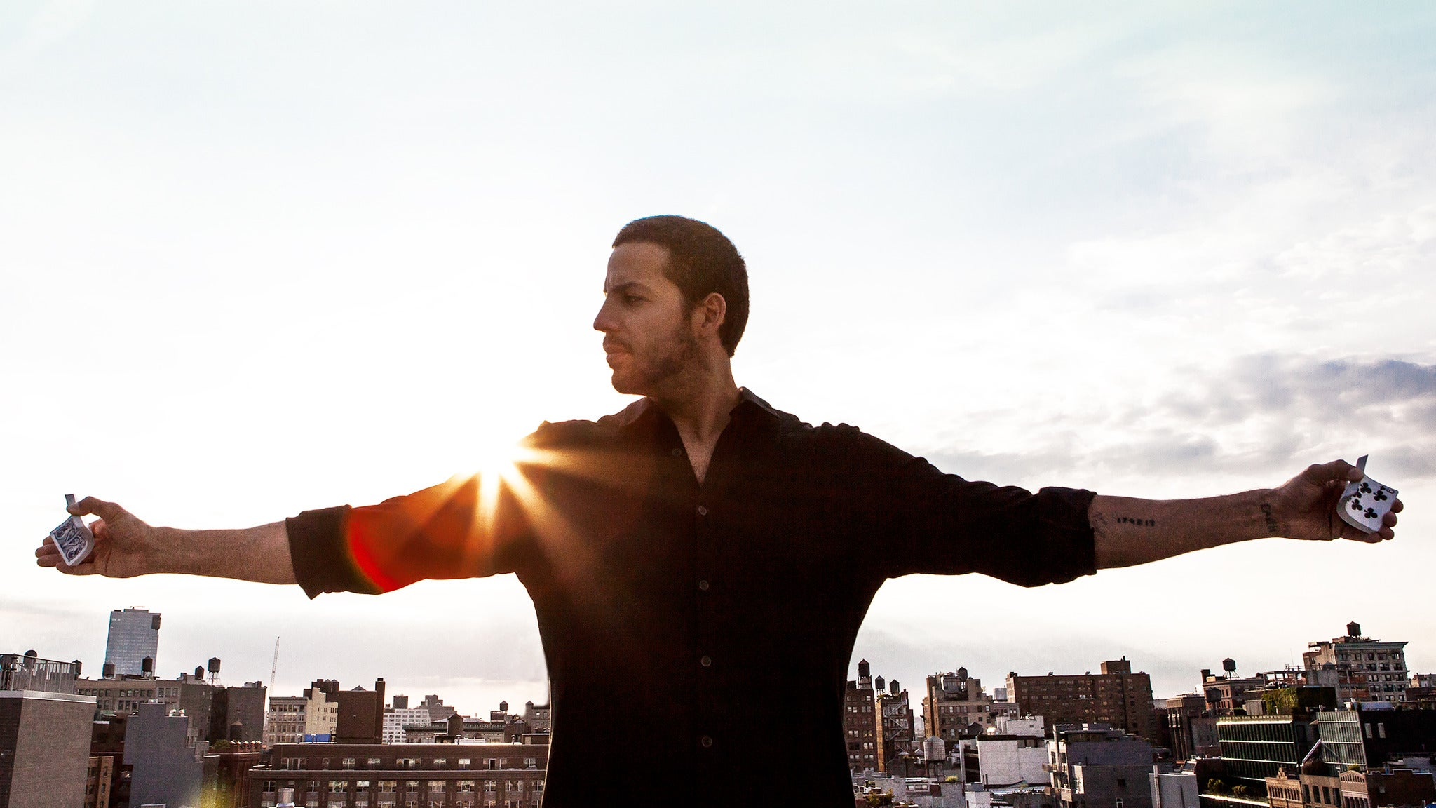 David Blaine Live at Mesa Arts Center-Ikeda Theater