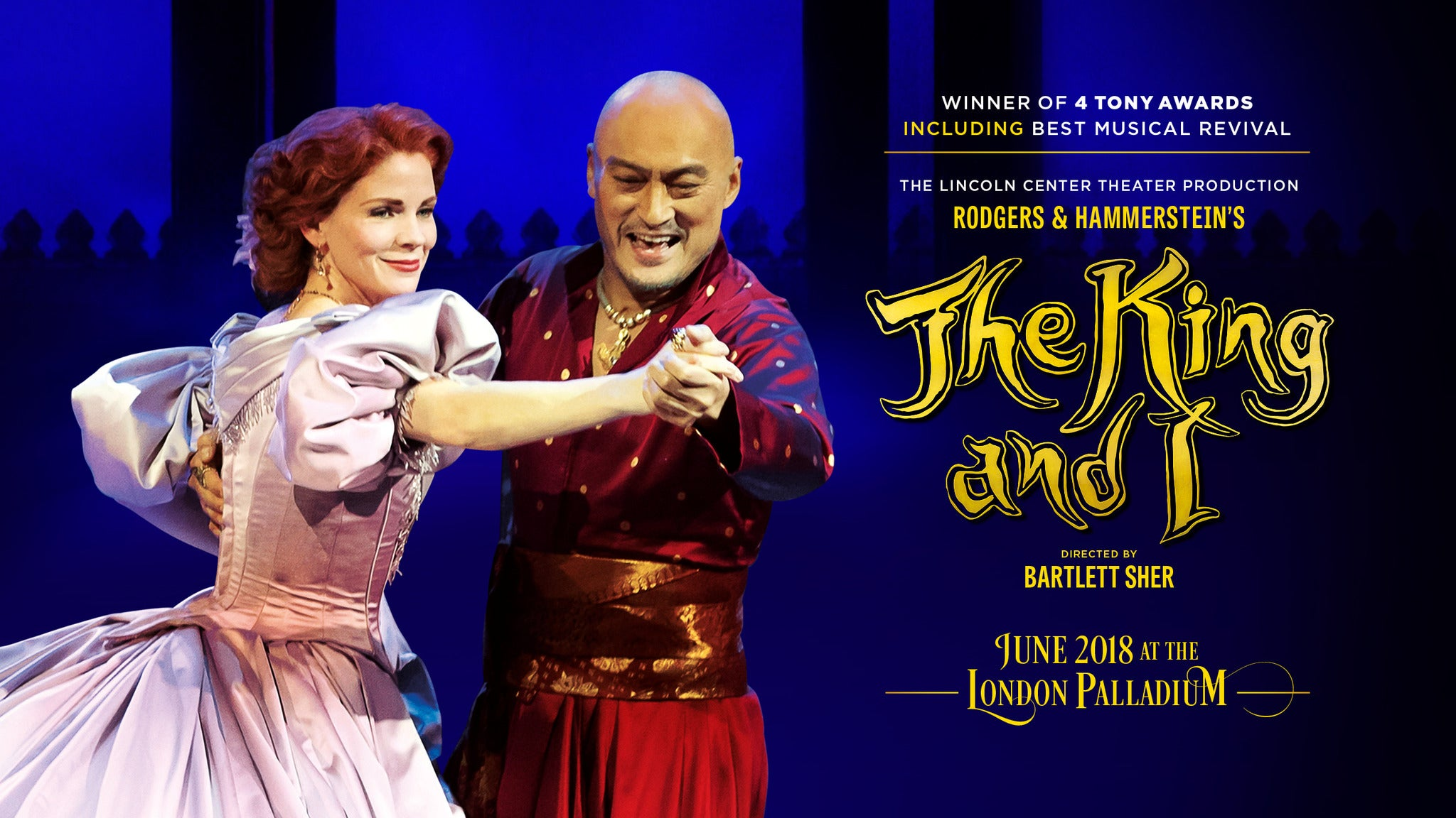 The King and I at San Jose Center for the Performing Arts