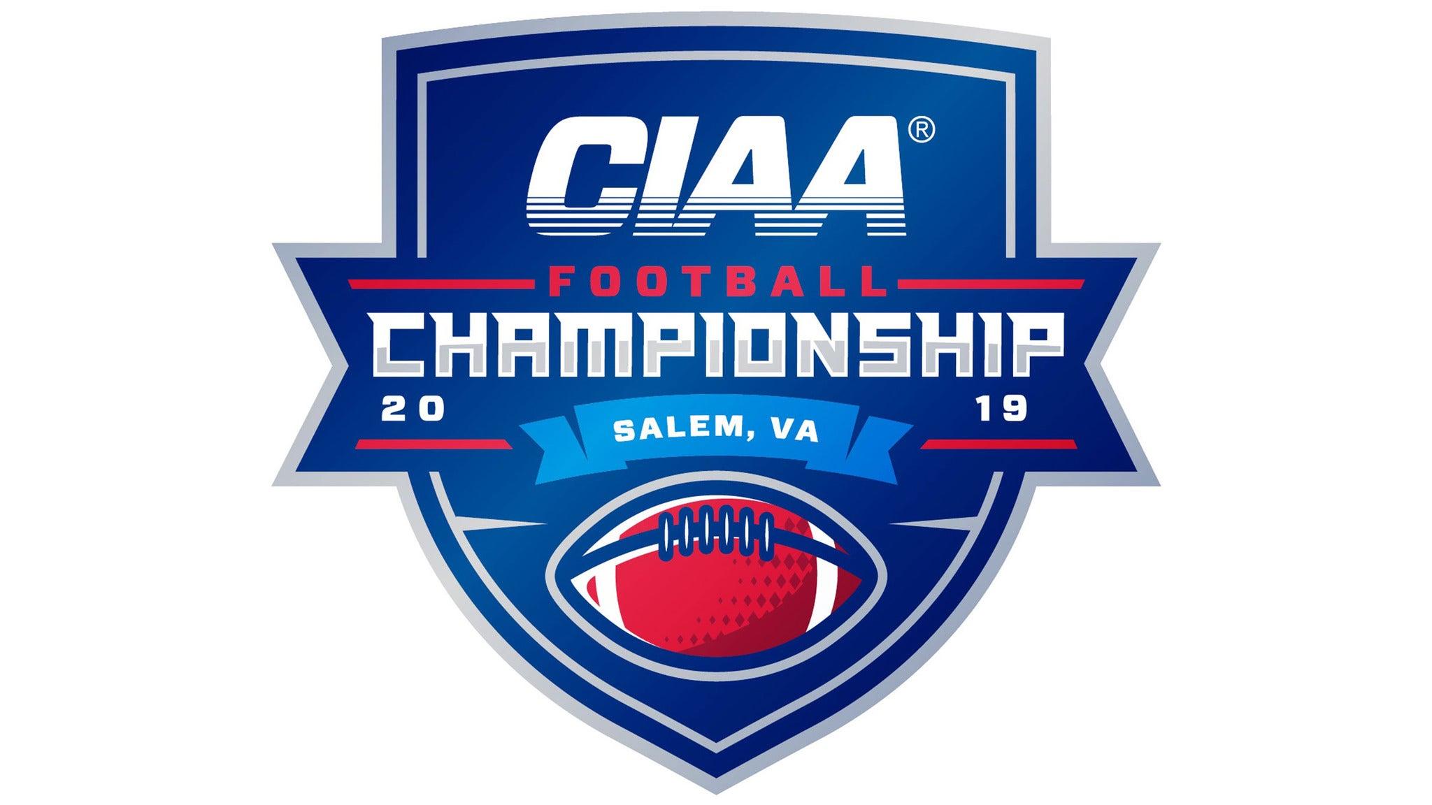 CIAA Football Championship at Salem Civic Center