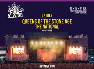 NOS Alive '18 - Thursday Day Ticket