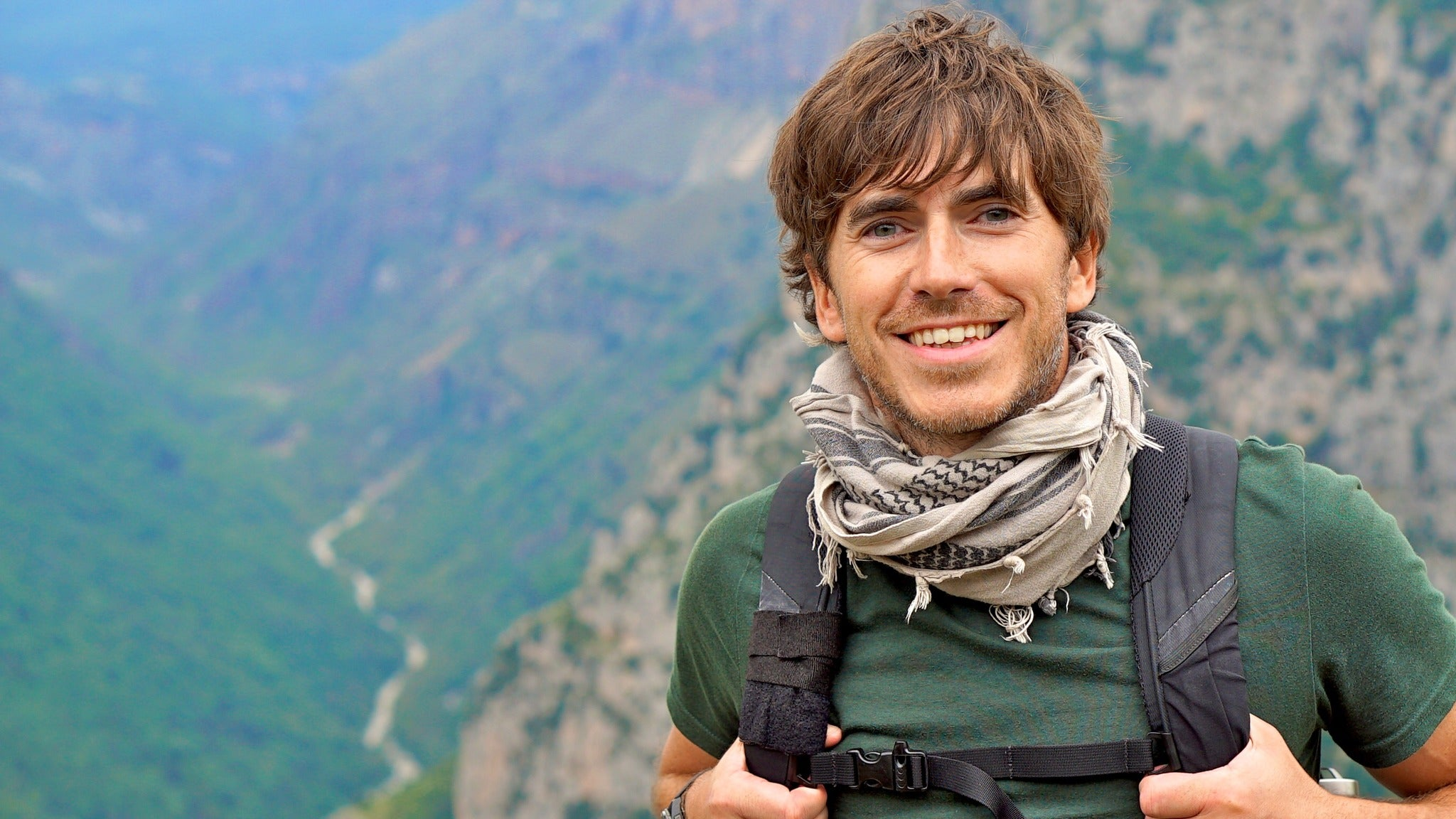 An Audience with Simon Reeve Event Title Pic