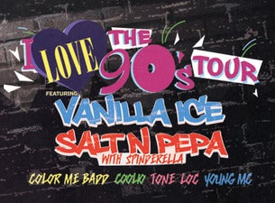 104.3 JAMS Presents Throwback Thursday Featuring I Love The 90s Tour