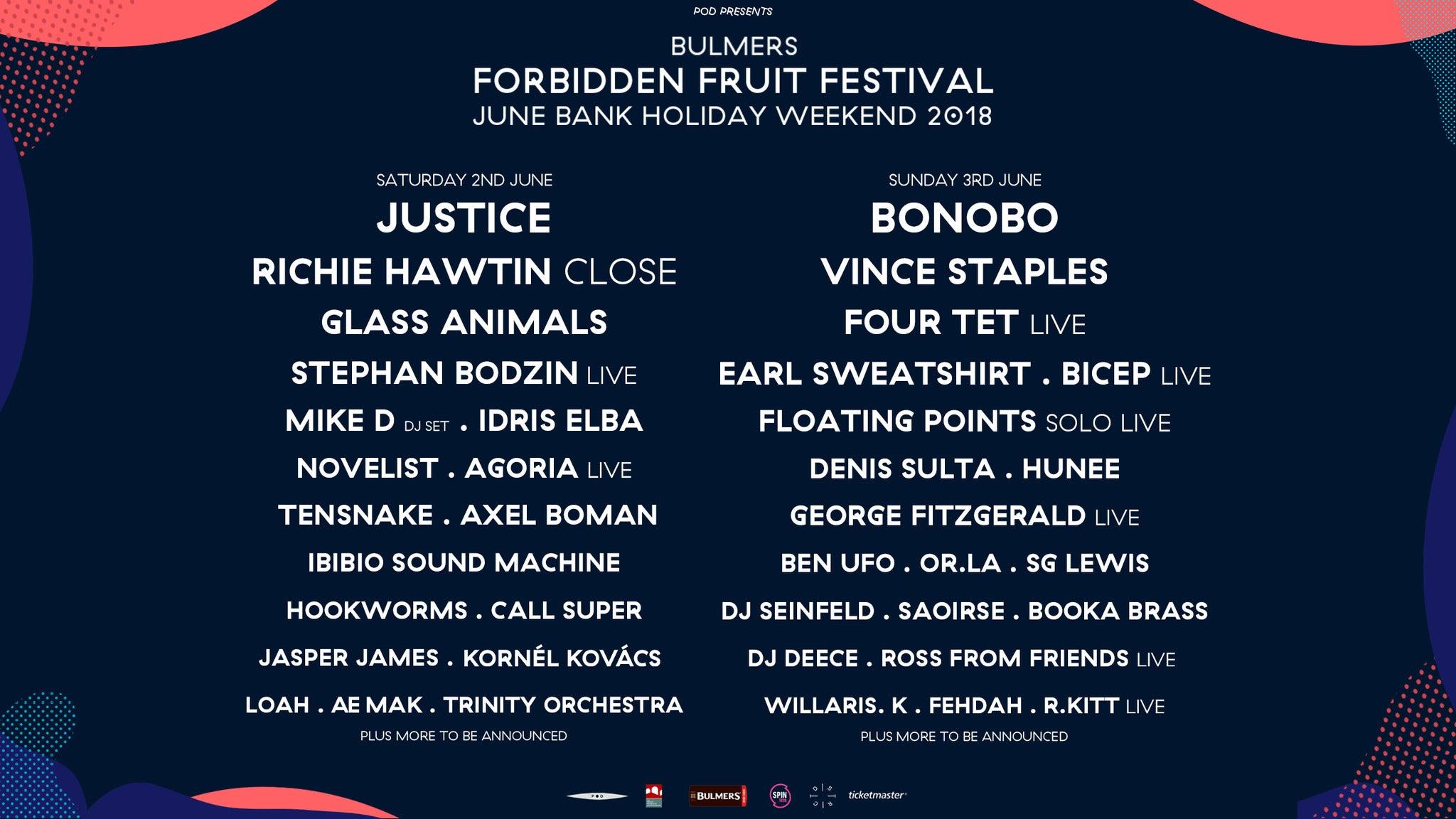 foto ticket Forbidden Fruit - Sunday Only Ticket