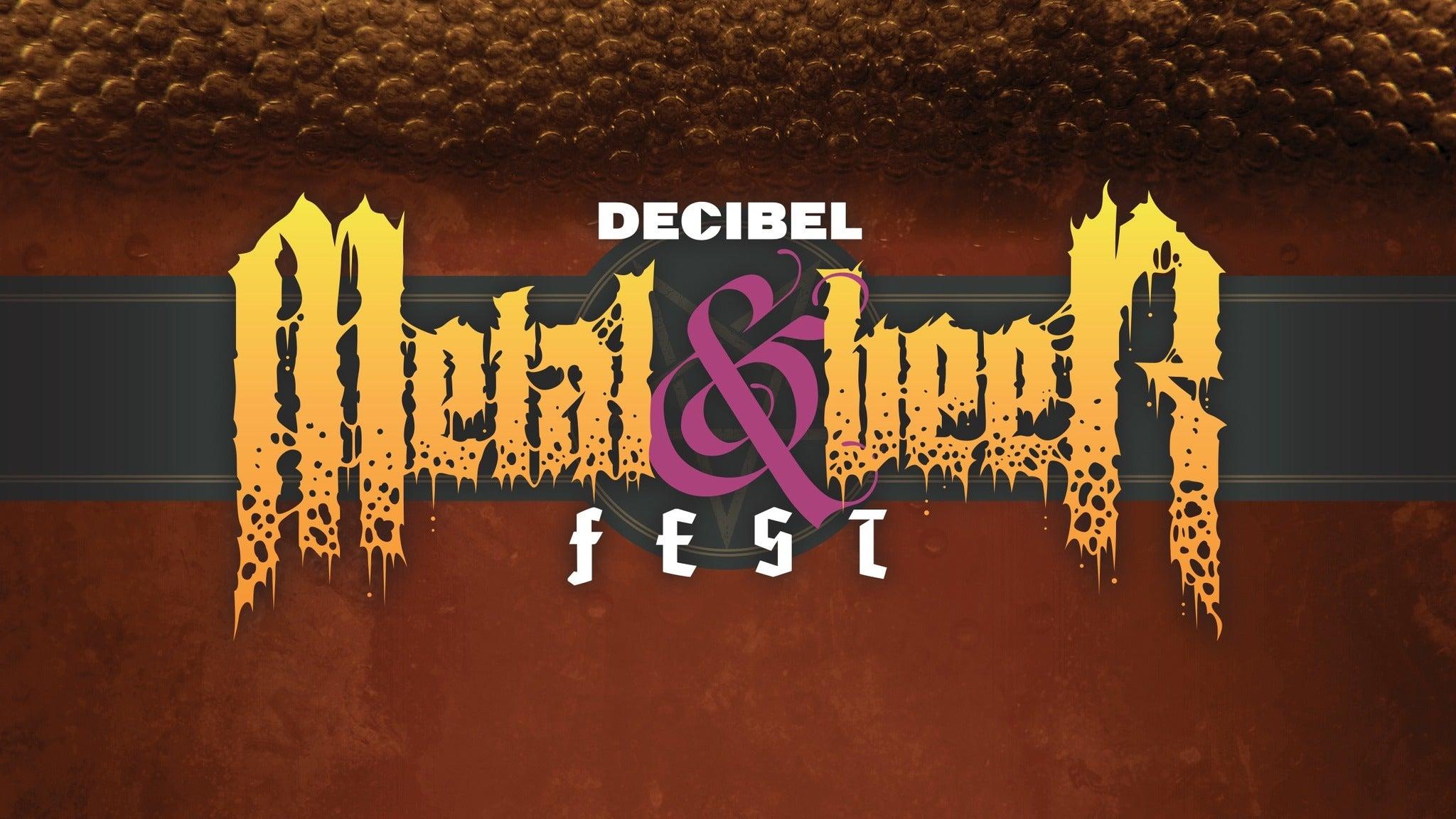 Decibel Metal & Beer Festival at The Vogue