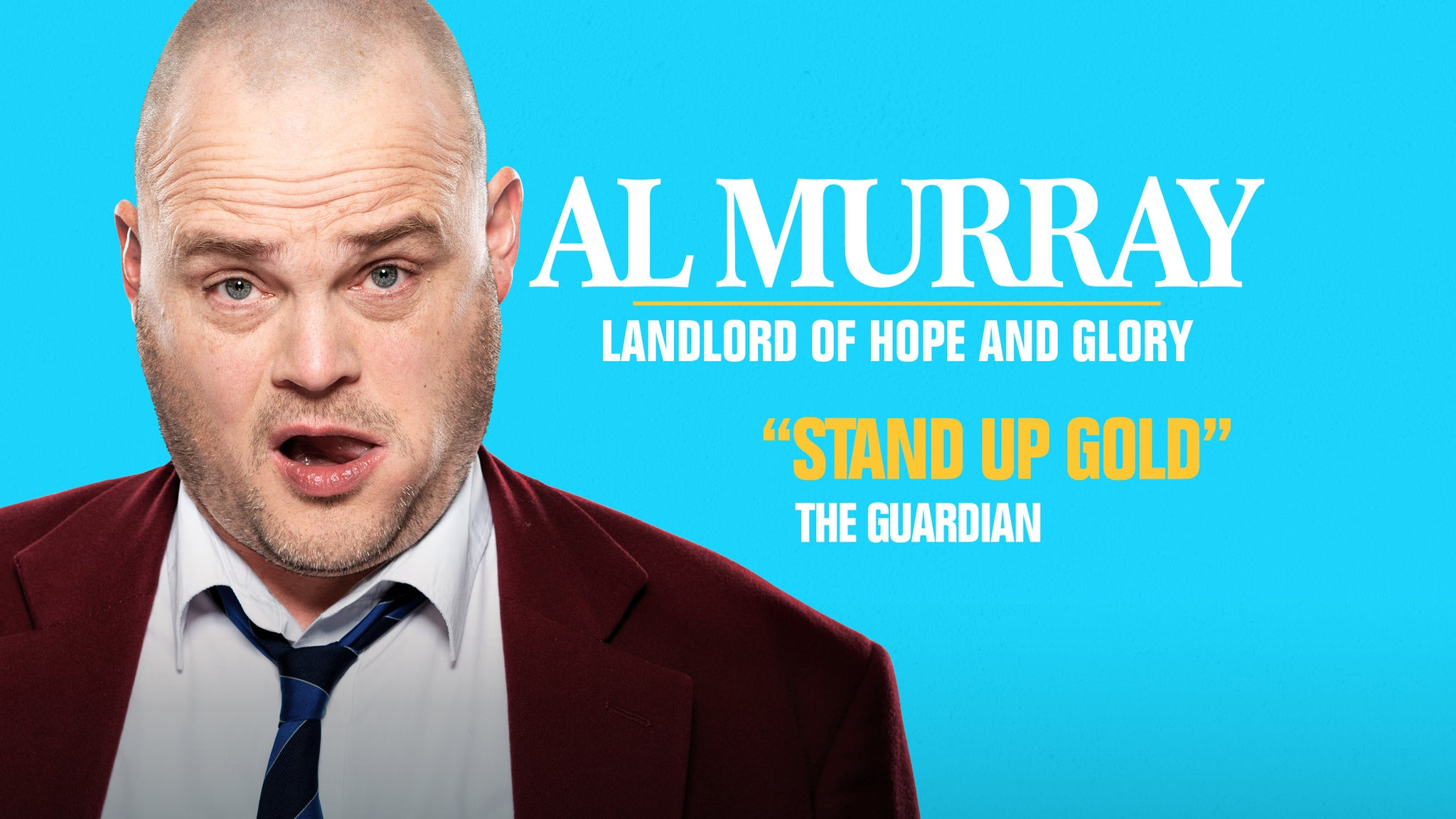 Al Murray Landlord Of Hope And Glory tickets (Copyright © Ticketmaster)