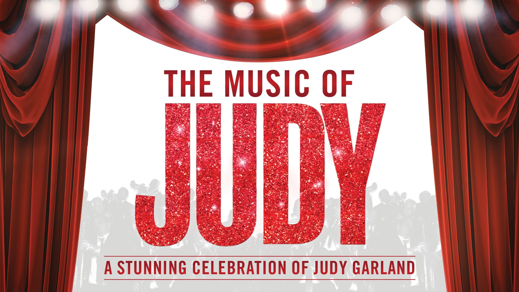 The Music of Judy Garland Event Title Pic