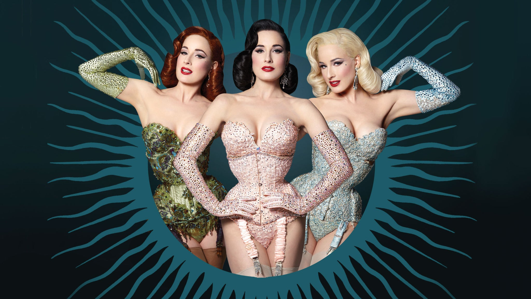 Dita Von Teese And The Copper Coupe Burlesque Revue