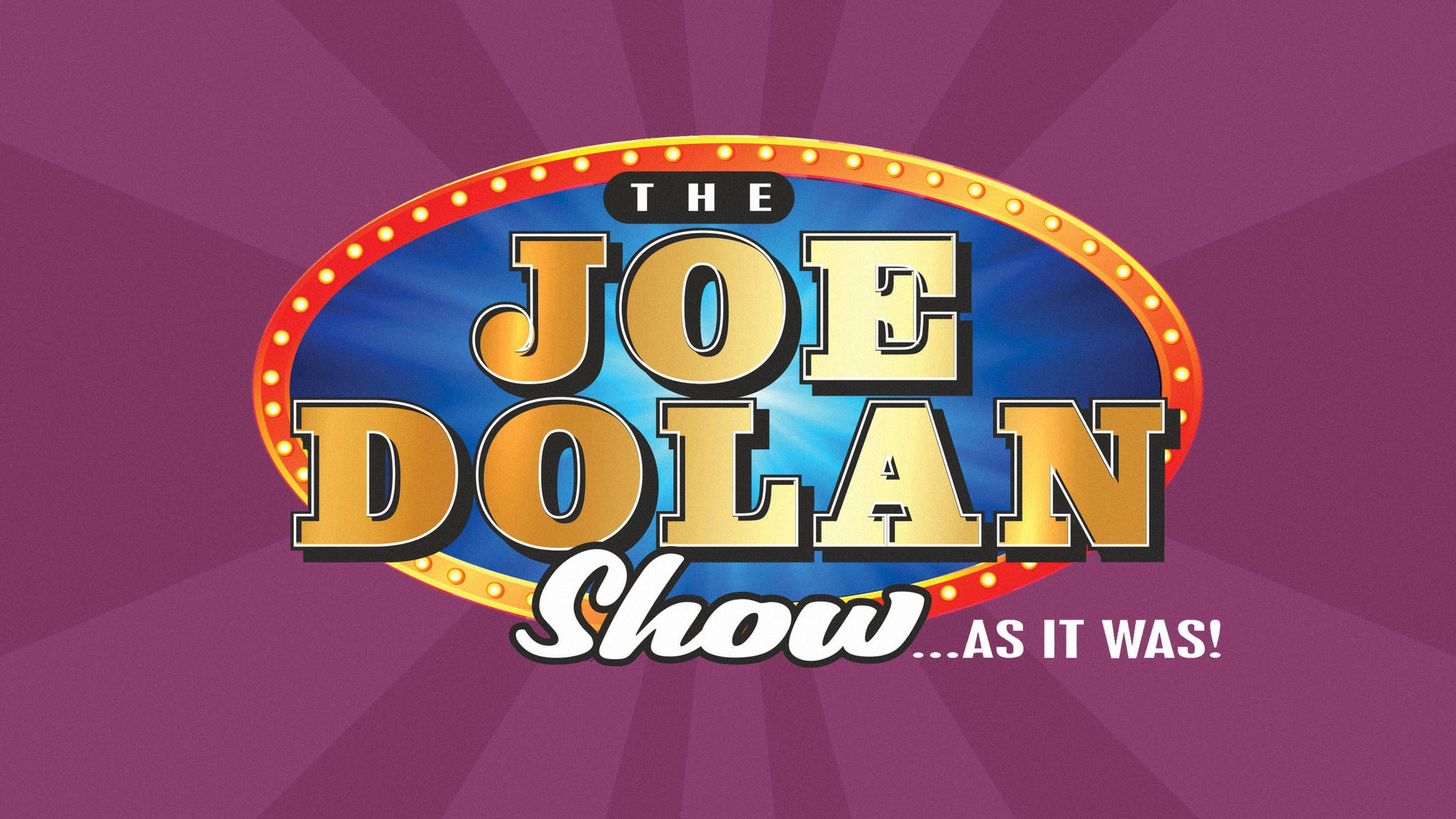 Image used with permission from Ticketmaster | The Joe Dolan Story - As It Was tickets