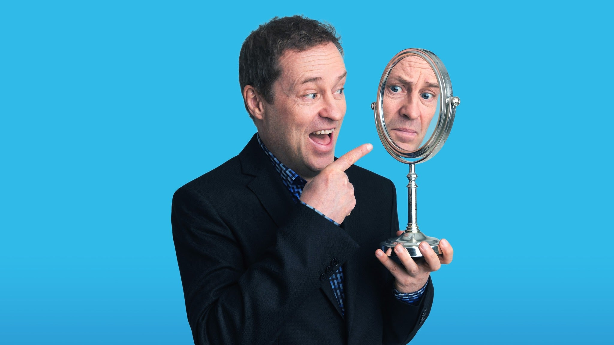 Ardal O'Hanlon - the Showing Off Must Go On Event Title Pic