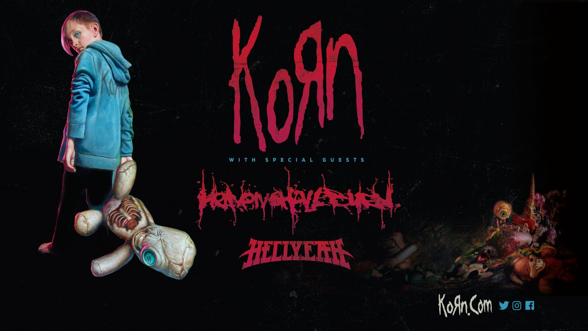 Korn & Breaking Benjamin at Adams Event Center