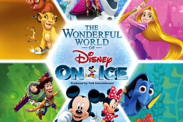 Priority booking & exclusive ticket discount to The Wonderful World of Disney on Ice