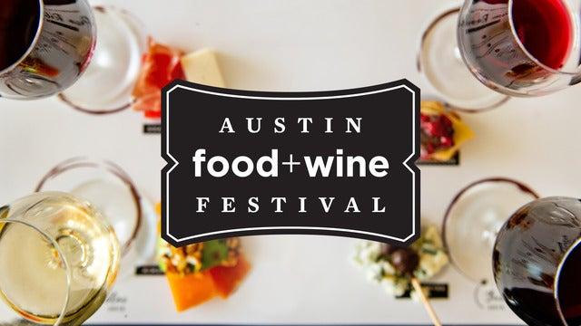 Austin Food + Wine Festival live