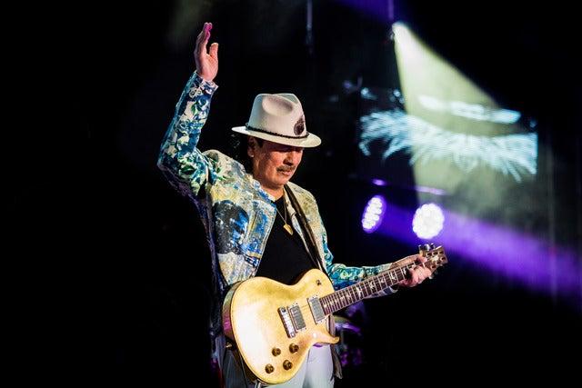 An Evening with Santana - Miraculous World Tour 2020 Seating Plan 3Arena