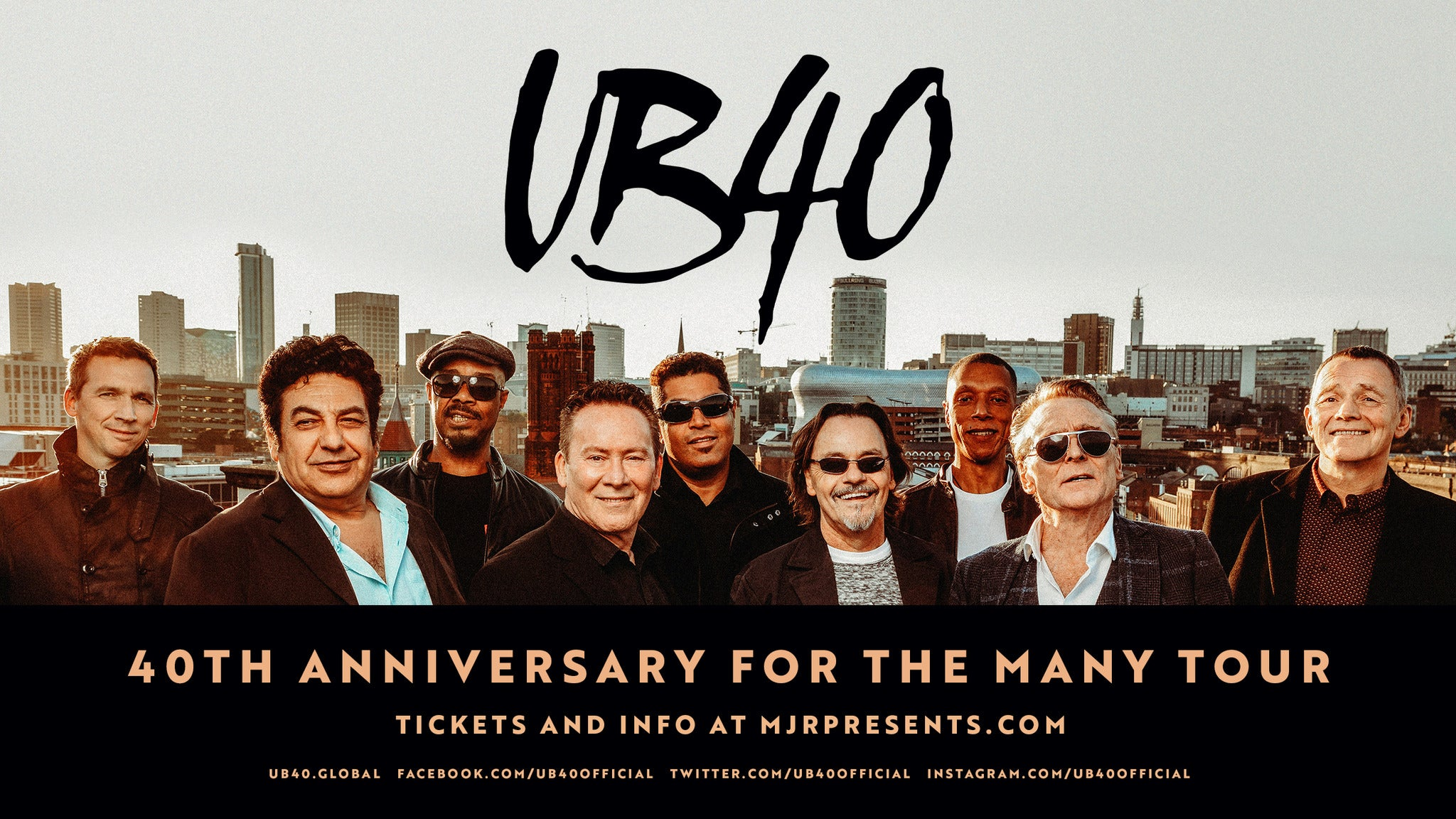UB40 tickets (Copyright © Ticketmaster)
