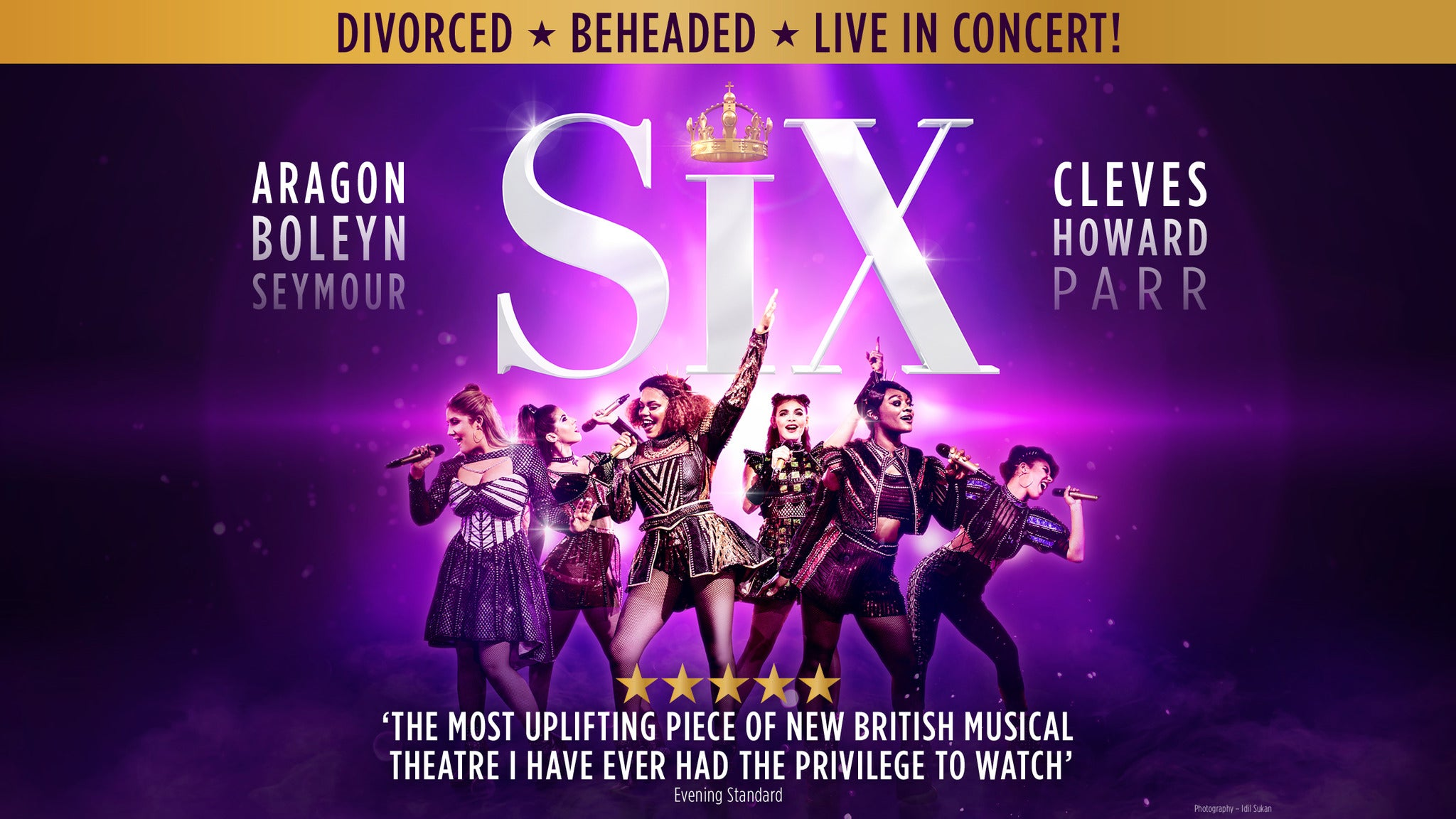 Six: The Musical Event Title Pic
