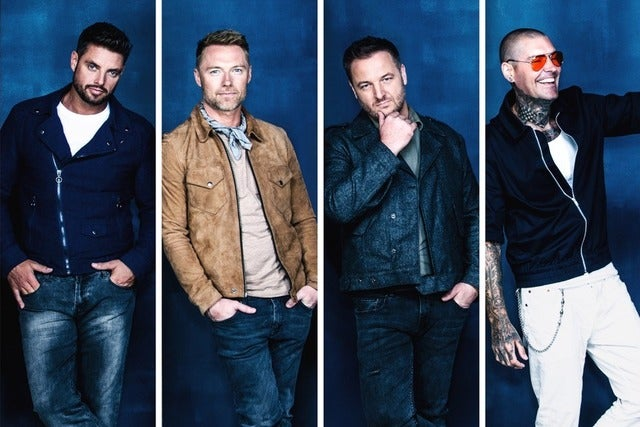 Boyzone - VIP Packages tickets | Copyright © Ticketmaster