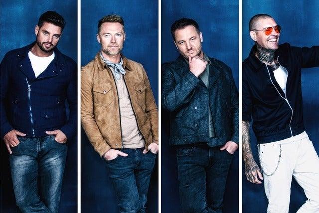 Boyzone tickets | Copyright © Ticketmaster