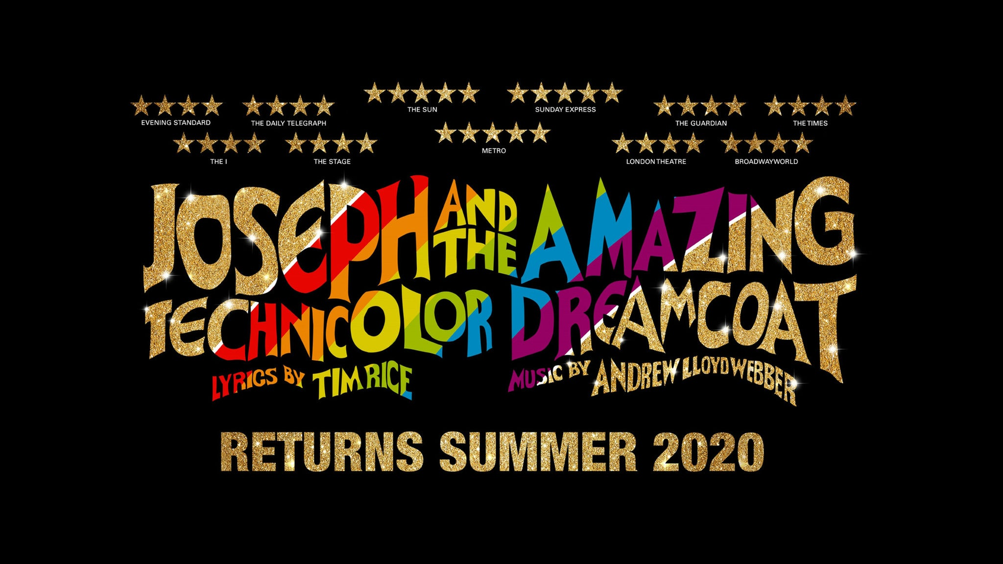 Joseph and the Amazing Technicolor Dreamcoat Seating Plan London Palladium
