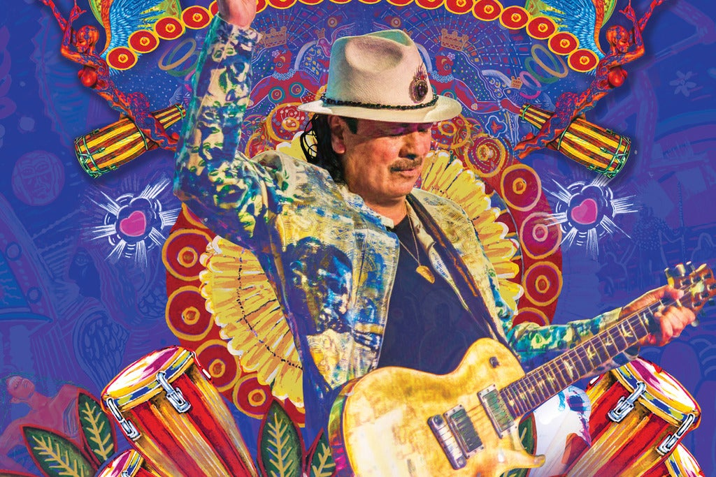Santana / Earth, Wind & Fire: Miraculous Supernatural 2020 Tour