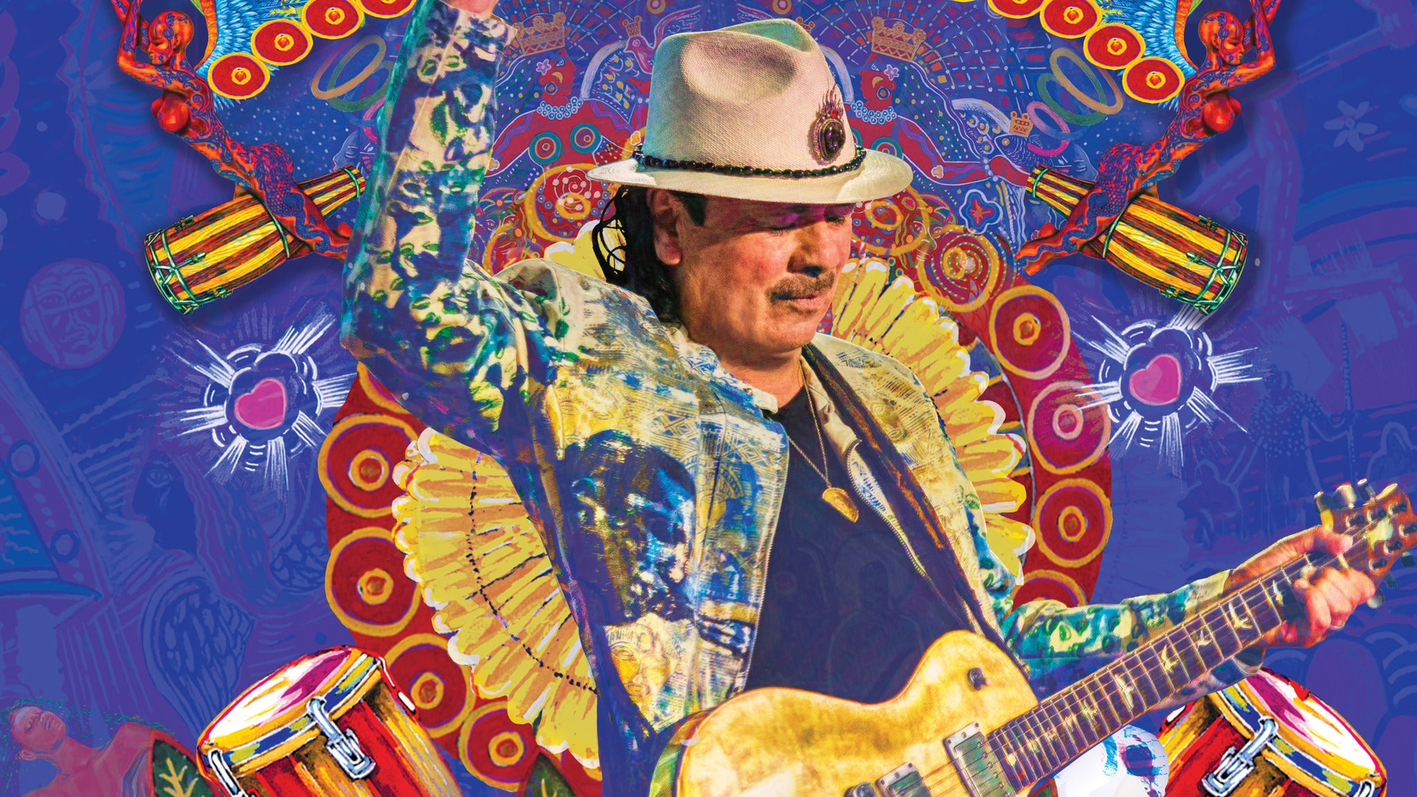 96.9 The Eagle Welcomes Santana: Supernatural Now