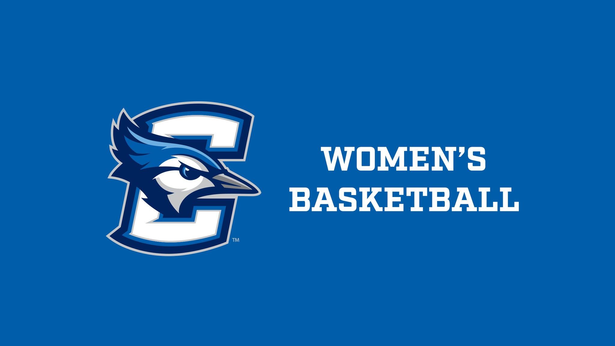 Creighton Bluejays Womens Basketball vs Concordia Womens Basketball