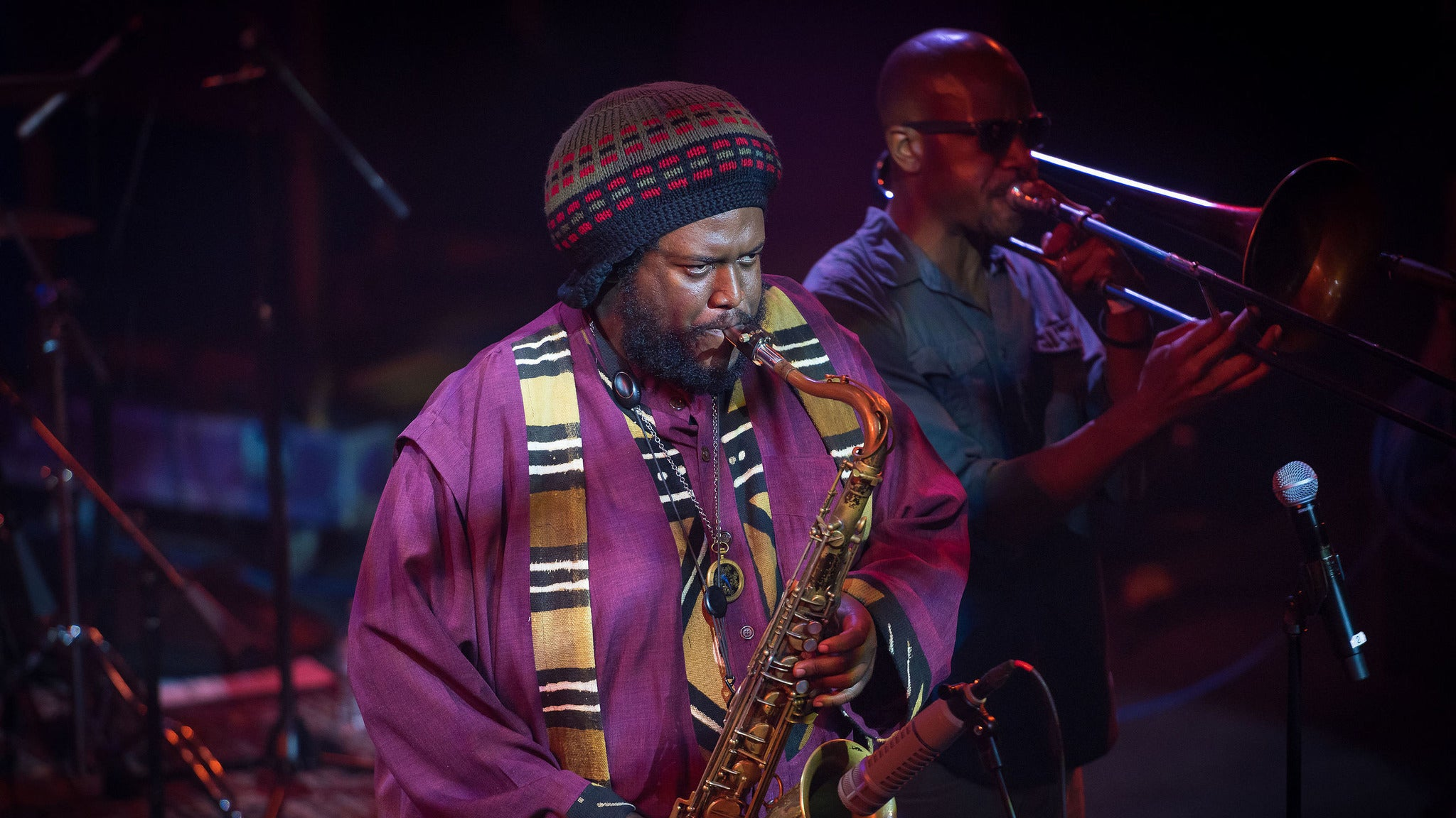 Kamasi Washington at Rialto Theatre-Tucson
