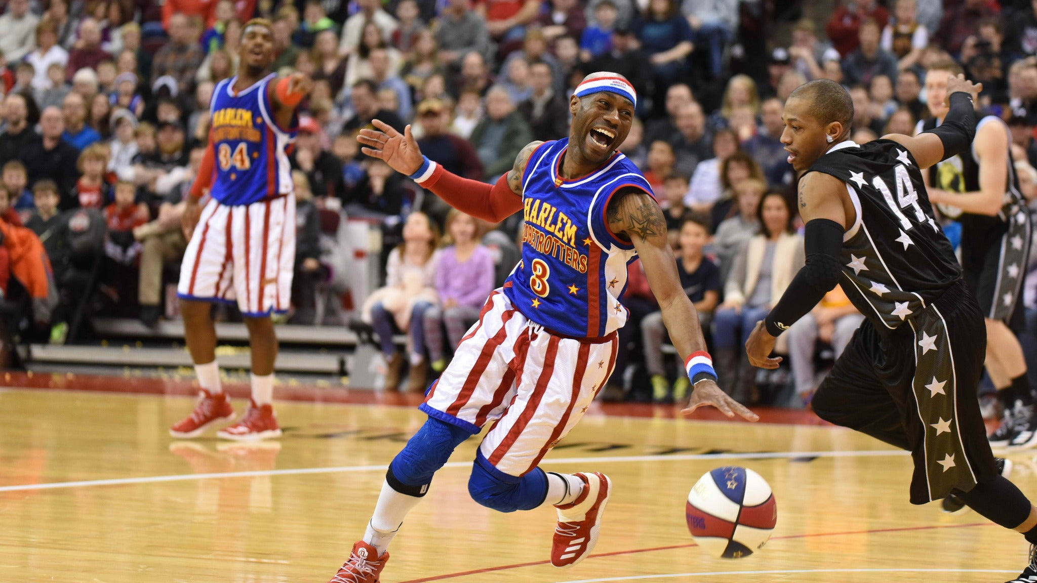 Harlem Globetrotters at EMU Convocation Center