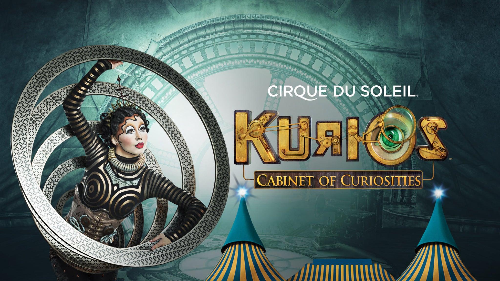 Tickets to Cirque du Soleil- Kurios - Cabinet of Curiosities : Sam ...