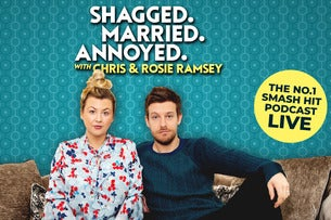 SHAGGED MARRIED ANNOYED with Chris & Rosie Ramsey Metro Radio Arena Seating Plan