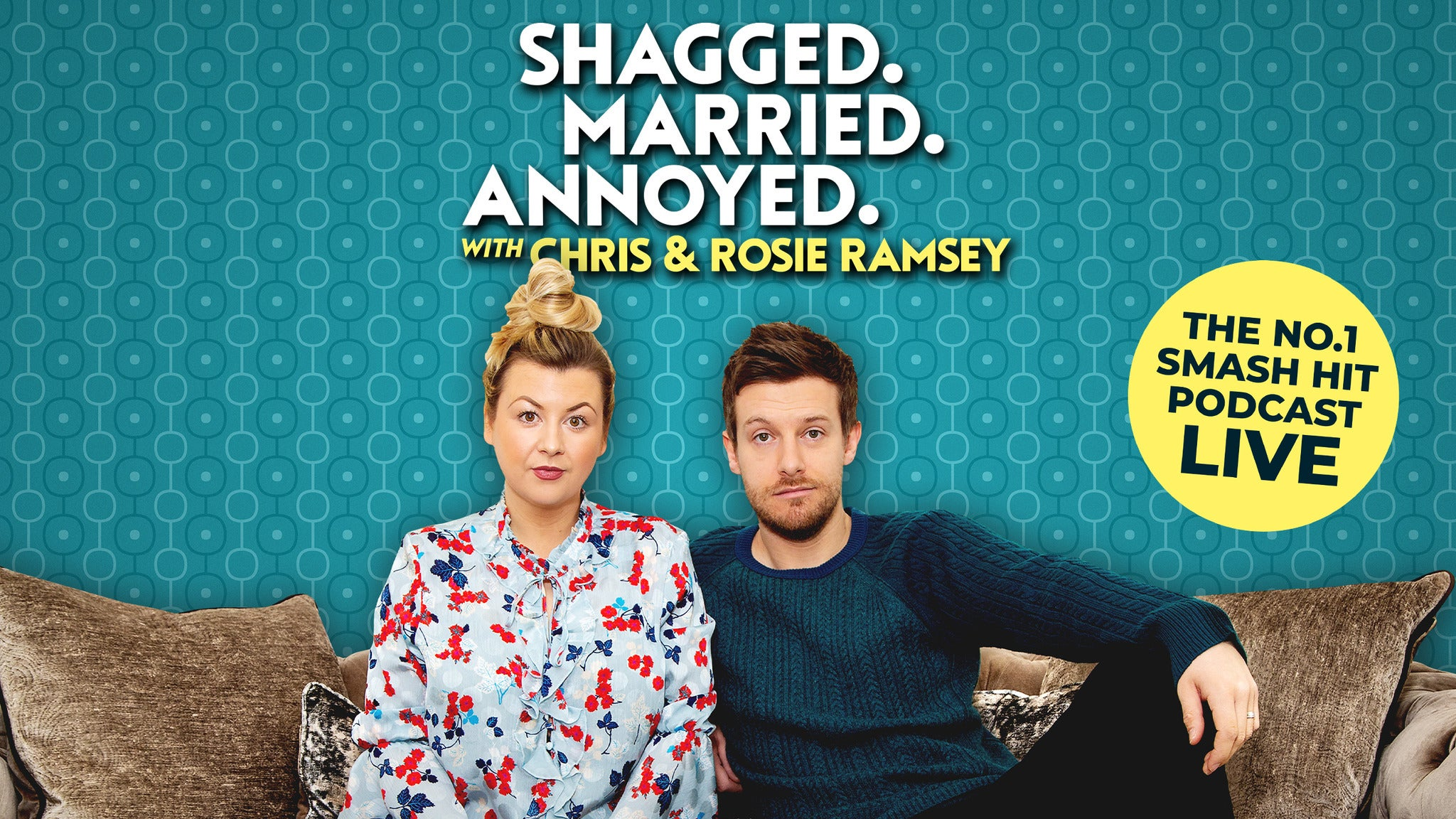 Shagged, Married, Annoyed with Chris & Rosie Ramsey tickets (Copyright © Ticketmaster)