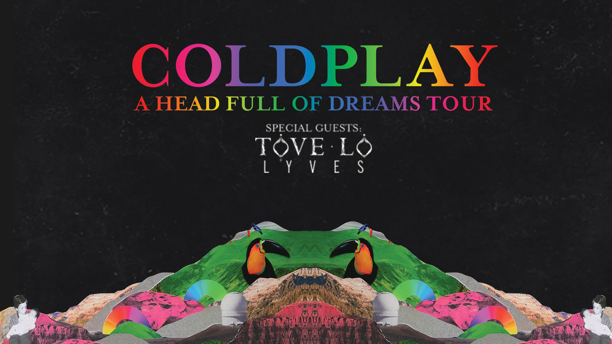 Coldplay:  A Head Full Of Dreams Tour at Rose Bowl