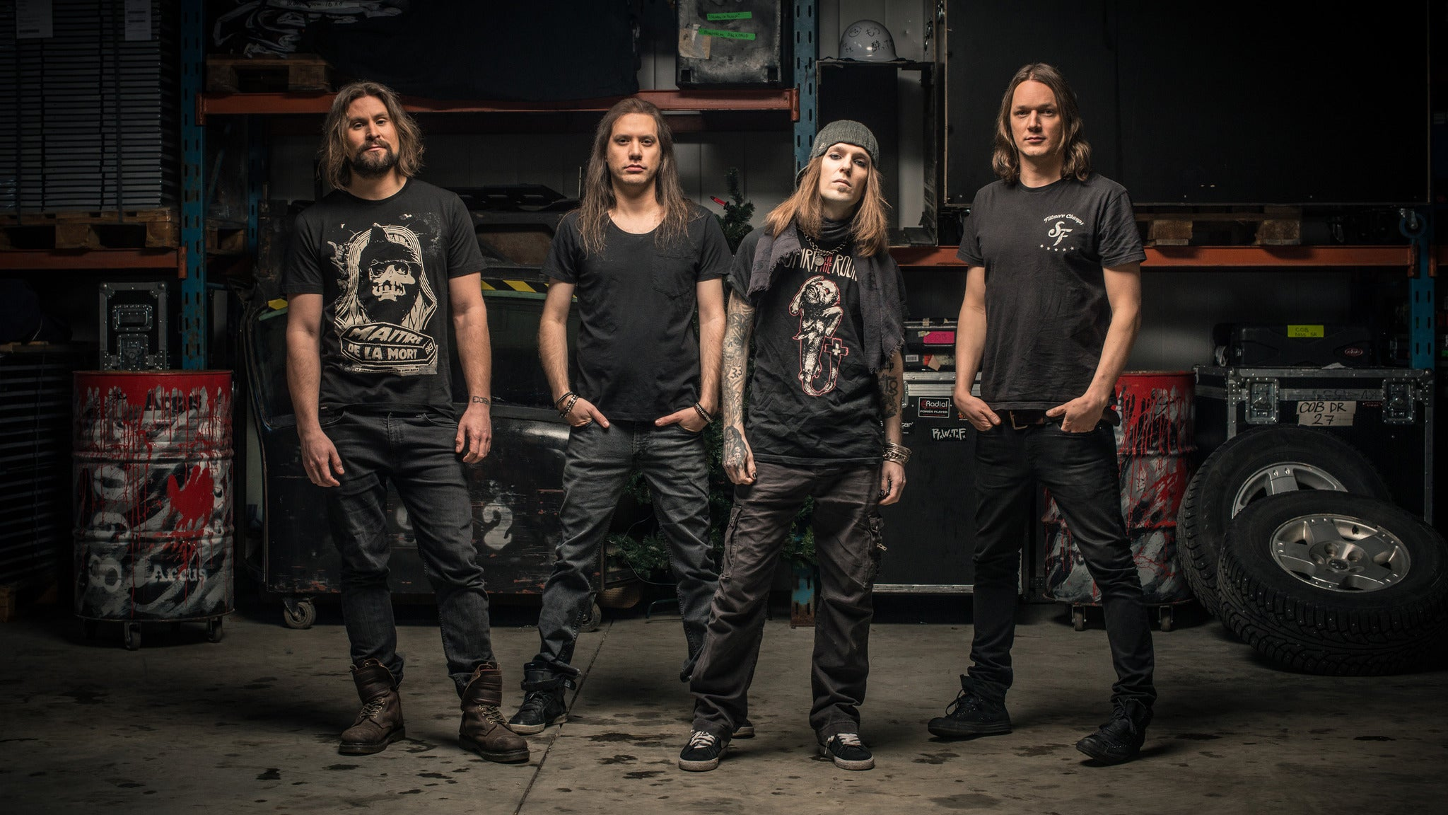 Children of Bodom, Carach Angren, Lost Society, Uncured