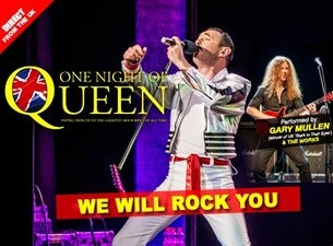 One Night of Queen at Yardley Hall Carlsen Center - KS