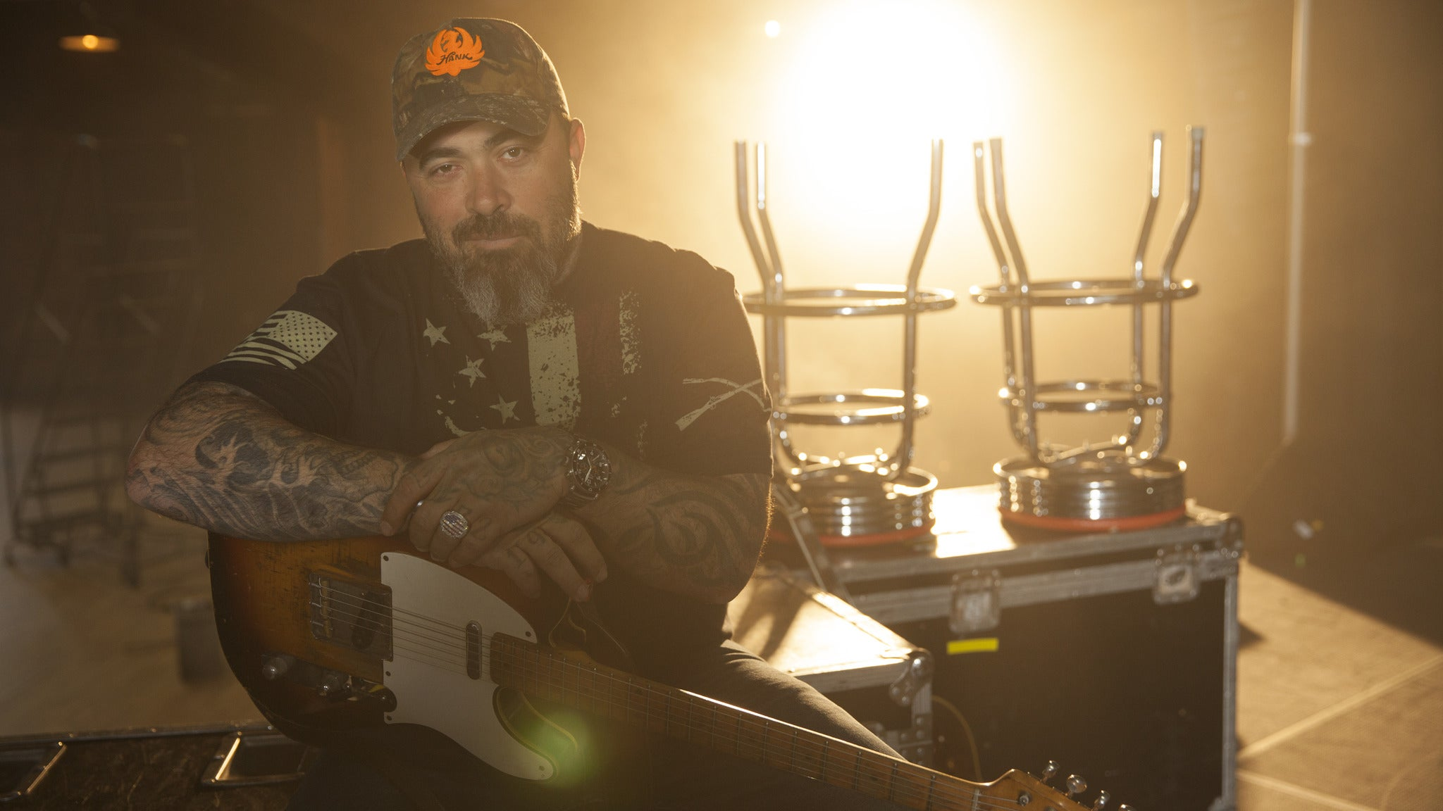 Aaron Lewis at Memorial Auditorium
