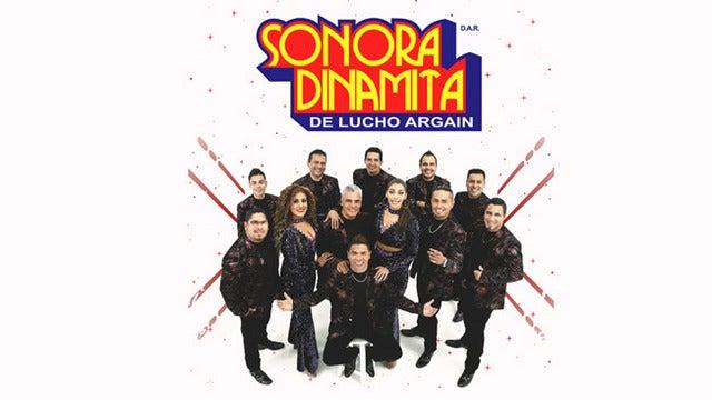 La Original Sonora Dinamita De Lucho Argain Y Xui Garcia tickets (Copyright © Ticketmaster)
