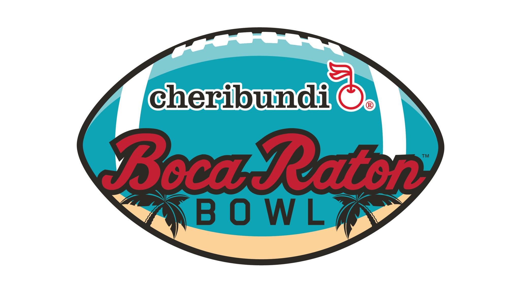 Cheribundi Boca Raton Bowl at FAU Stadium
