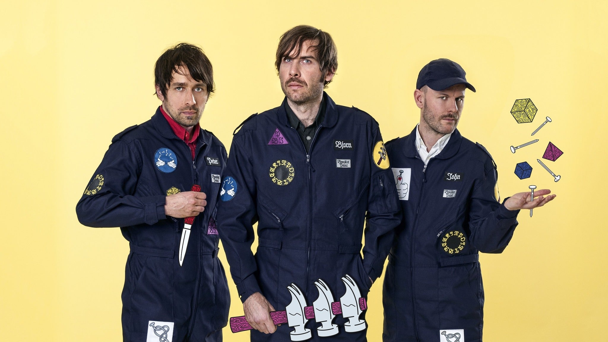 Peter Bjorn and John at Amsterdam Bar & Hall