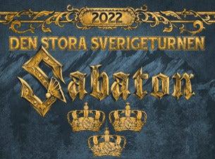 SABATON, 2022-01-19, Лінчепінг