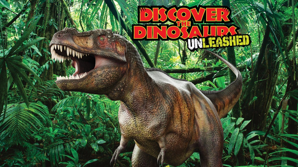 Discover the Dinosaurs Unleashed | San Antonio, TX | Freeman Coliseum Expo Hall | August 13, 2017