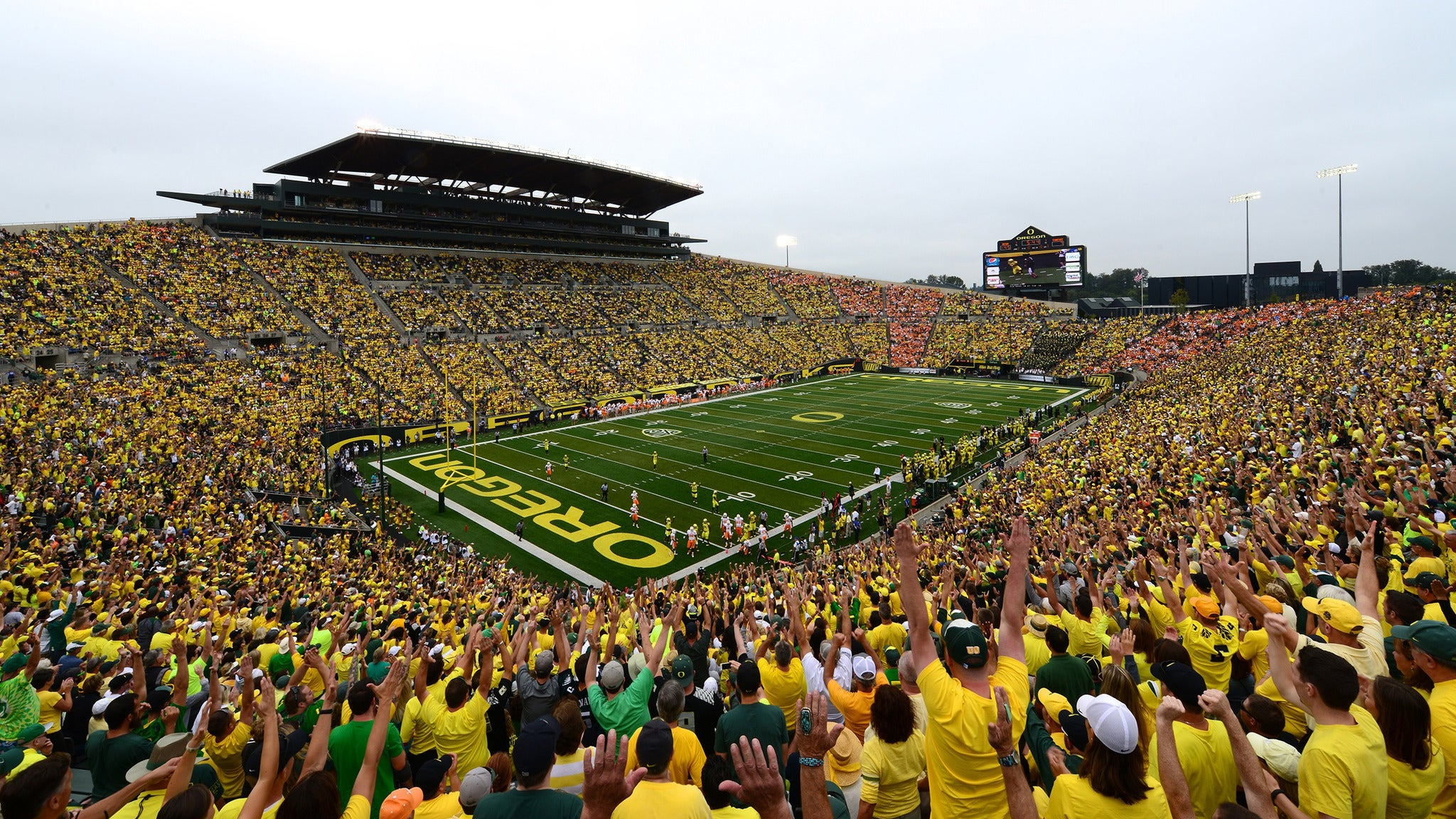 2017 University of Oregon Football Mini Plan