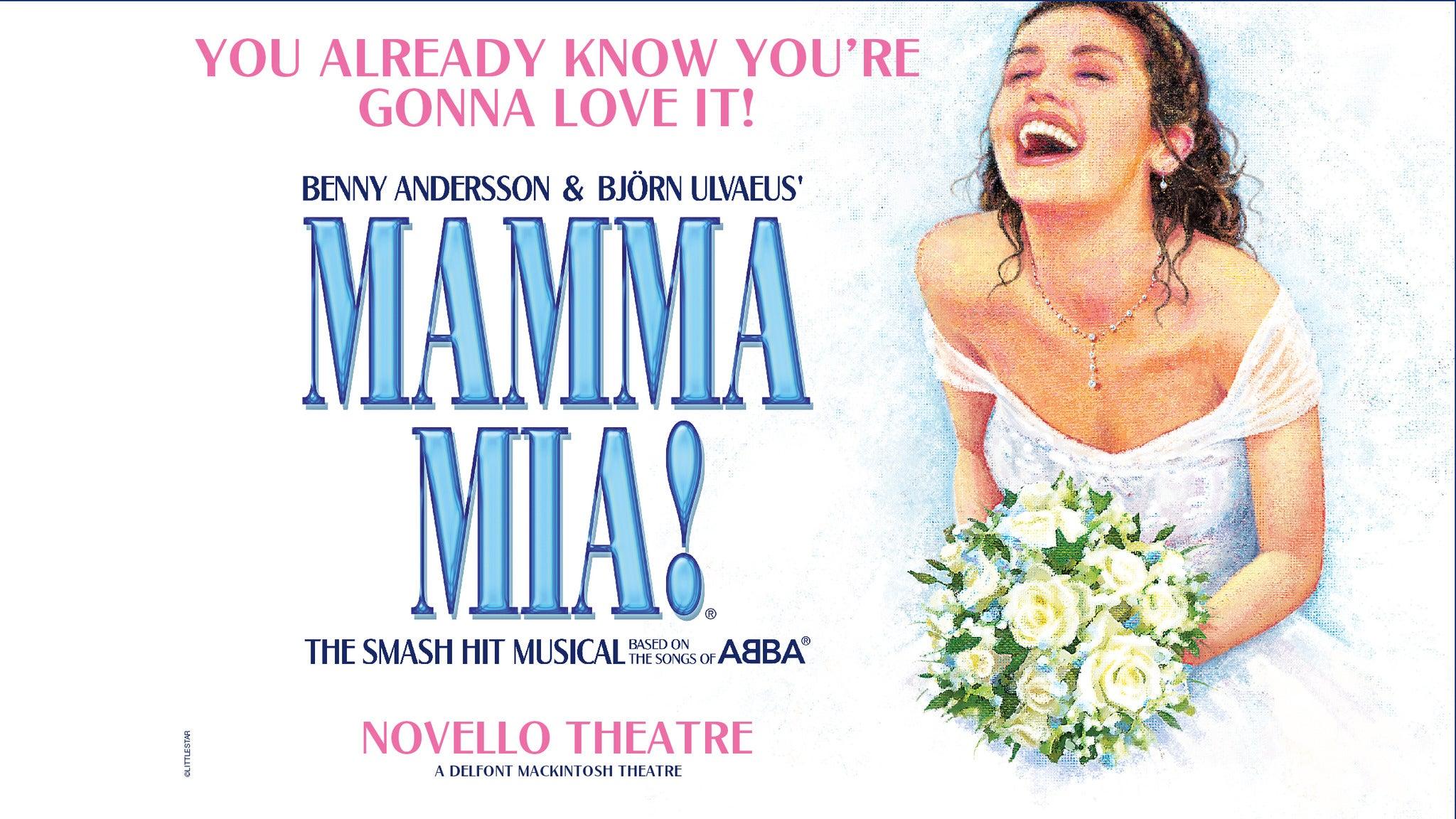 Mamma Mia! - Groups Event Title Pic