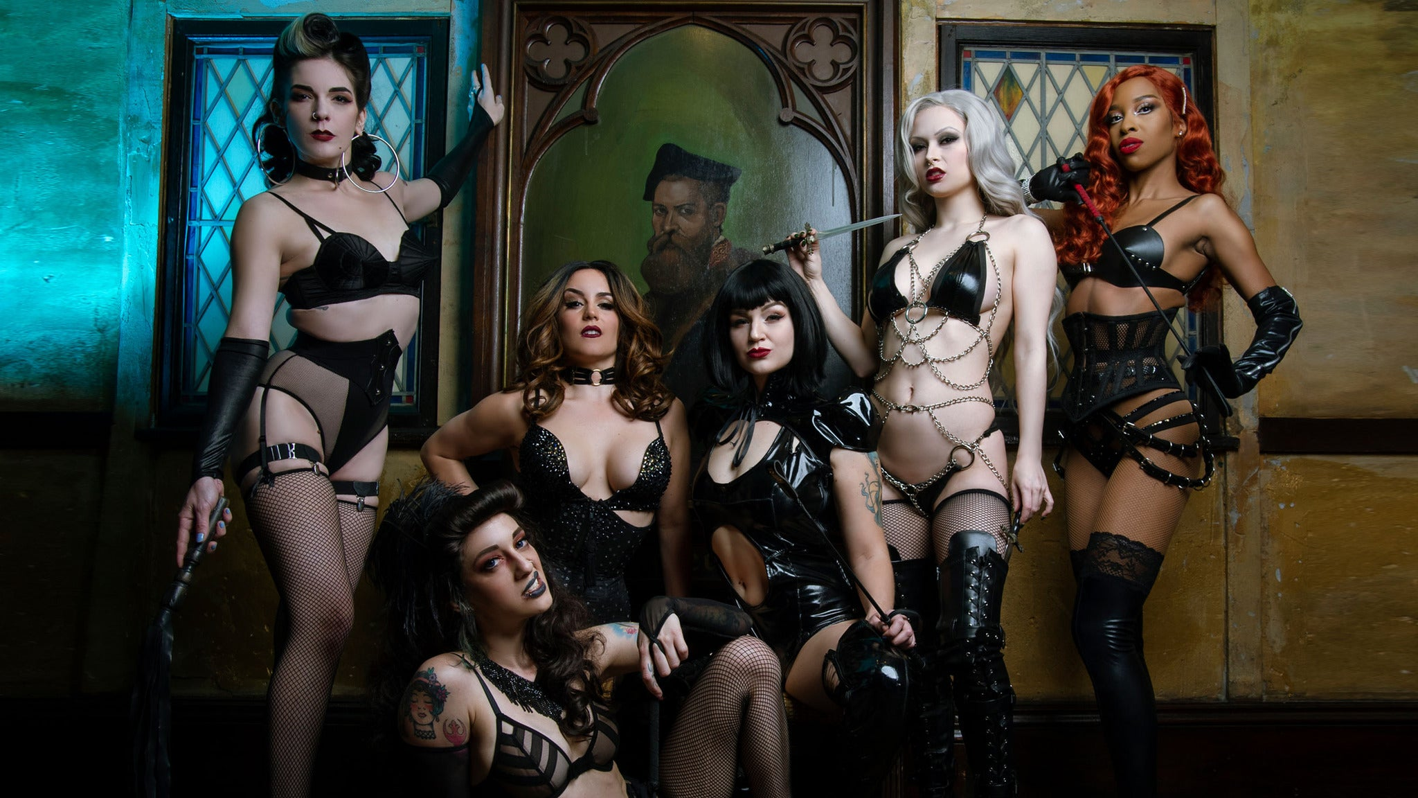 Inferno Burlesque - In The Parish At HOB