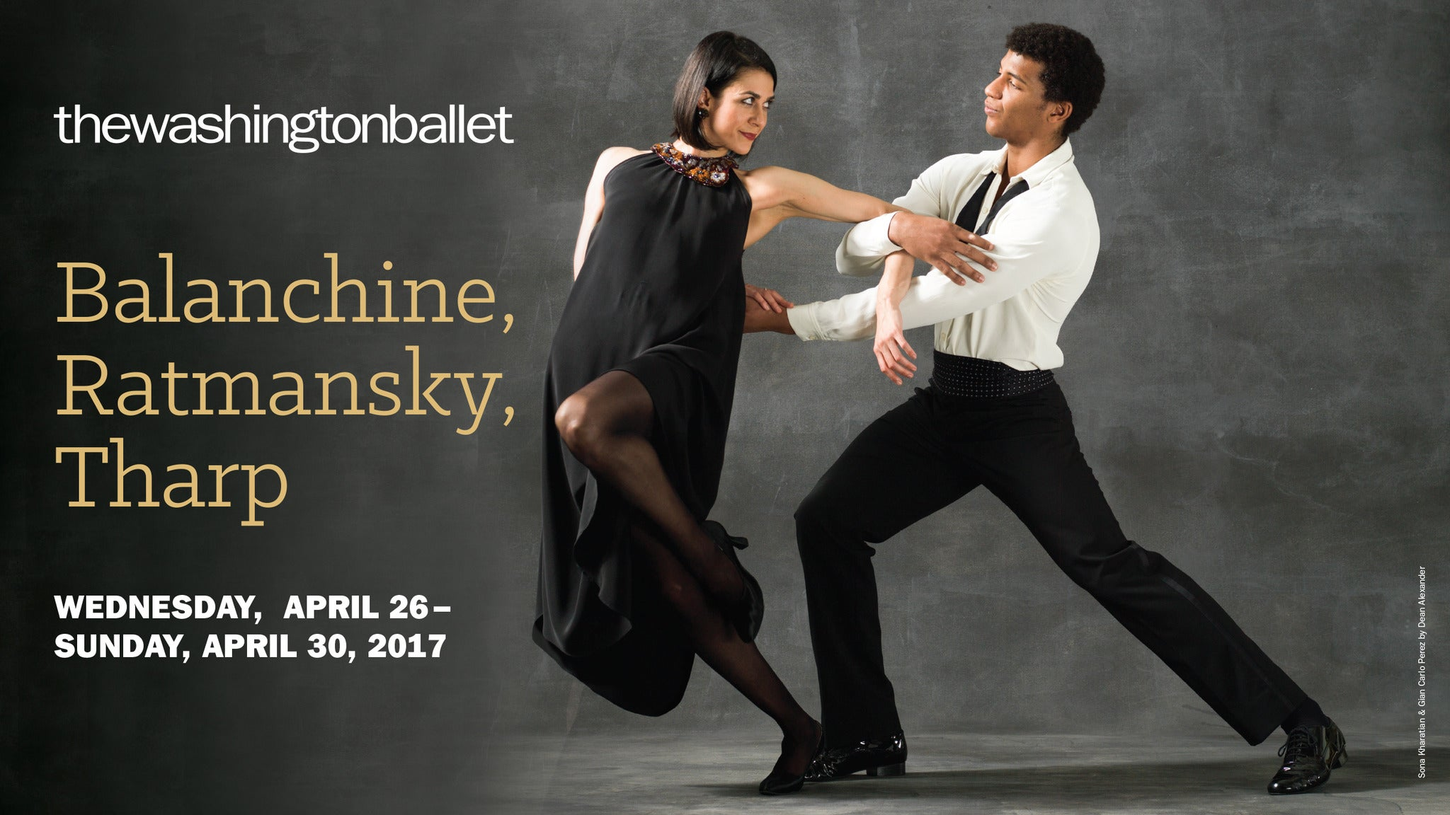 Balanchine,Ratmansky,Tharp at Warner Theatre