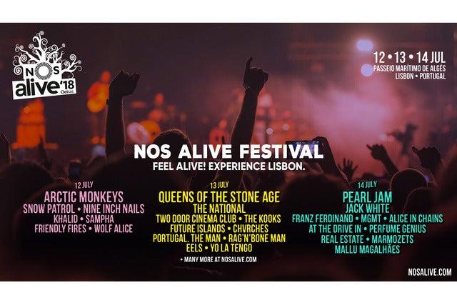 NOS Alive '18 - Thursday Day Ticket
