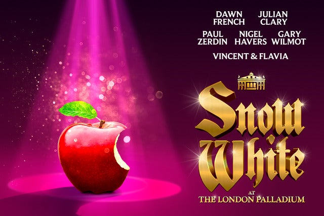 Snow White At The London Palladium London Palladium Seating Plan