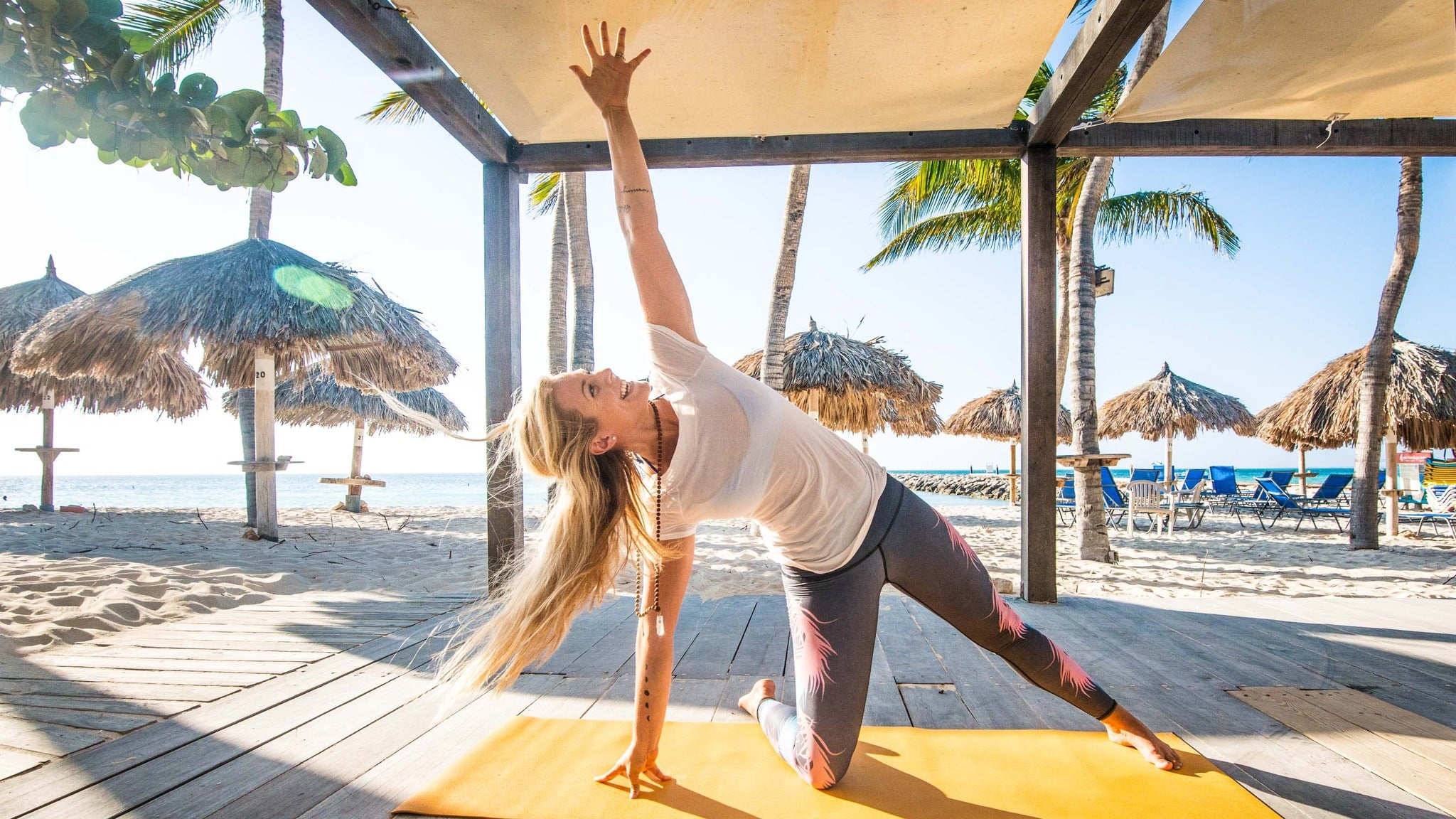 A Yoga Class with Rachel Brathen