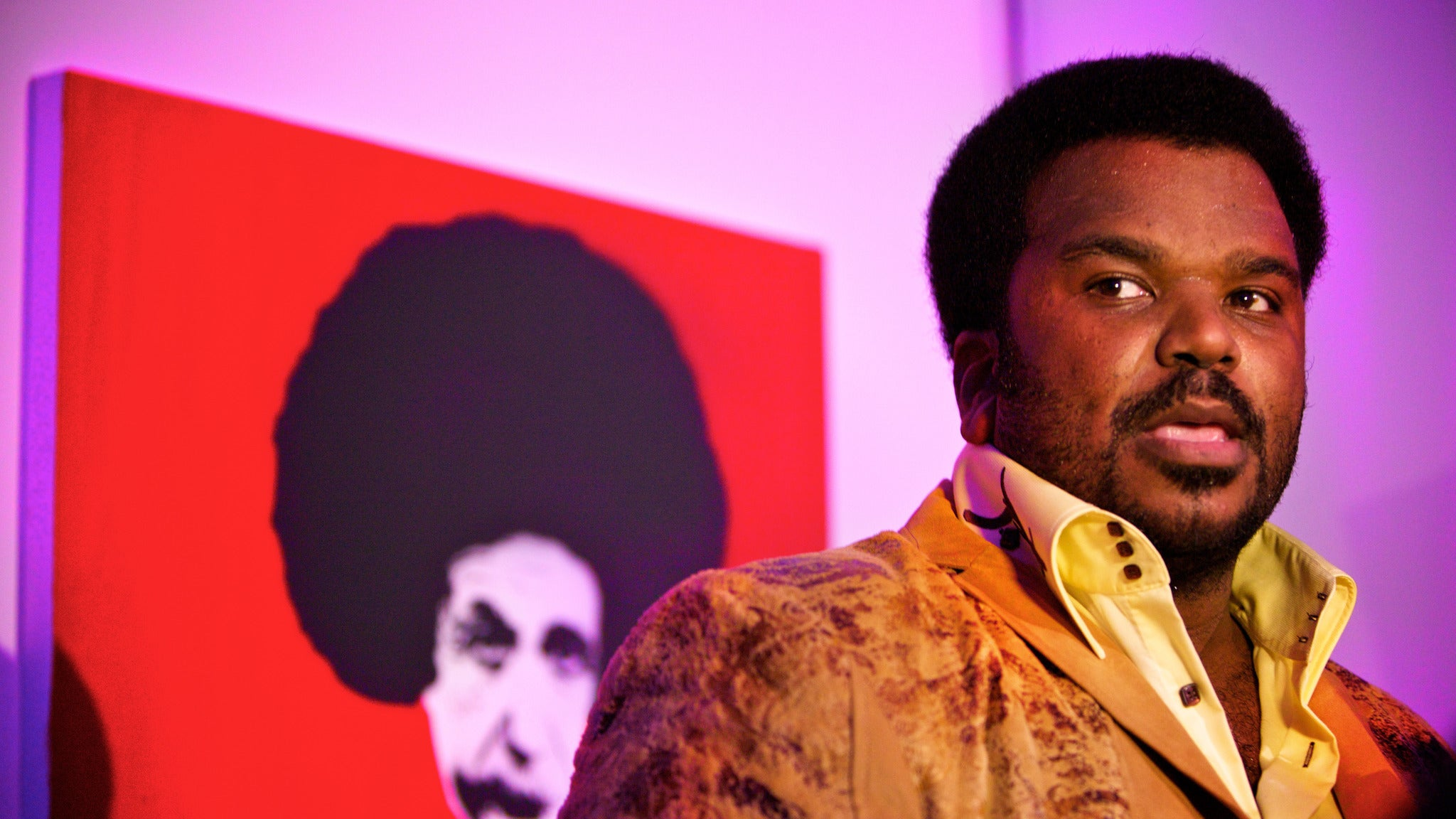 Craig Robinson at Improv Comedy Club-Irvine